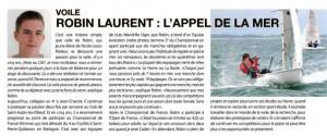 Robin Laurent : l'appel de la mer