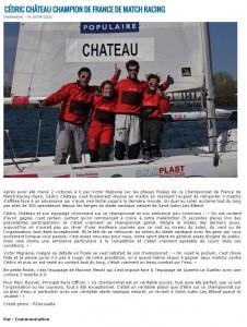 Cédric Chateau vainqueur du CFMRO