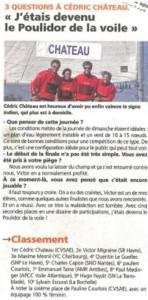 3 Questions à Cédric Chateau