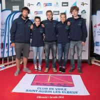 L'équipage du CVSAE en course à La Rochelle
