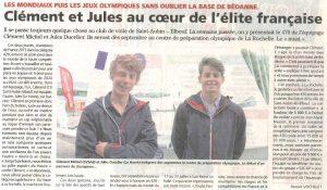 Clément et Jules au coeur de l'élite française