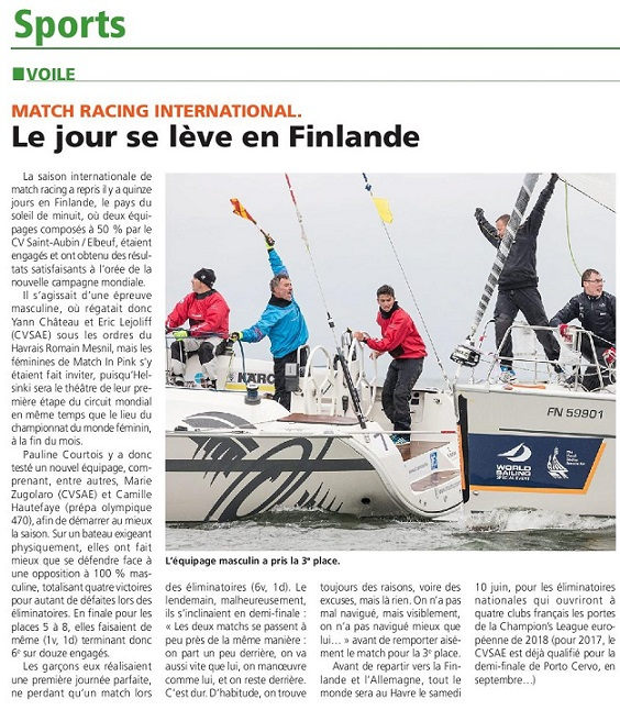 match racing internationalpetit