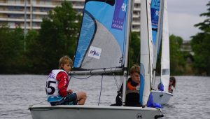 Noé et Léon, 3e sur le nouveau RS Feva