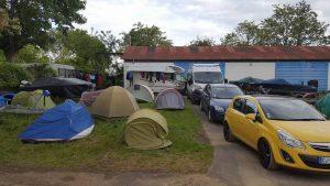 Le campement Cvsae